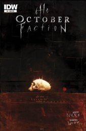 The October Faction #8 Subscription Variant