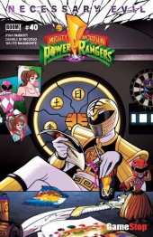 Mighty Morphin Power Rangers #40 Summer Convention Only at GameStop Exclusive Variant
