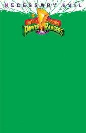 Mighty Morphin Power Rangers #50 OASAS Comics Exclusive Green Blank Variant