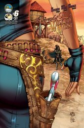The Legend of Oz: The Wicked West #6 Cover B Wichmann