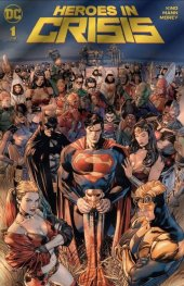Heroes in Crisis #1 DC Boutique Exclusive Gold Foil Variant Edition