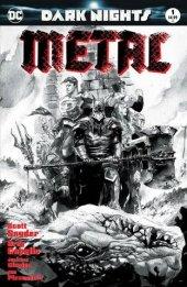 Dark Nights: Metal #1 Dustin Nguyen B&W Variant
