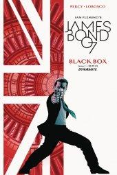 James Bond: Black Box #1 Cassaday Percy Signed Variant