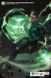 The Green Lantern Season Two #1 Gerald Parel Variant