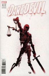 Daredevil #612 1:10  RIVERA INCENTIVE VARIANT