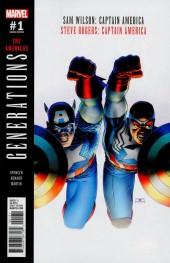 Generations: Captain Americas #1 John Cassaday Variant