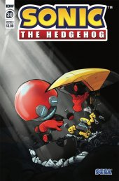 Sonic the Hedgehog #30 Cover B Skelly
