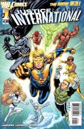 Justice League International #1