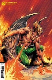 Hawkman #21 Variant Cover