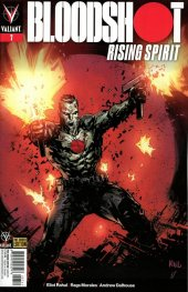 Bloodshot: Rising Spirit #7 Cover D Variant Ken Lashley Cover