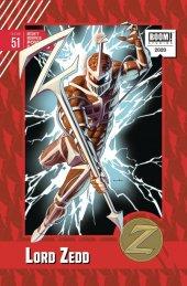 Mighty Morphin Power Rangers #51 1:10 Anka Cover