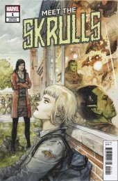 Meet the Skrulls #1 Niko Henrichon Variant