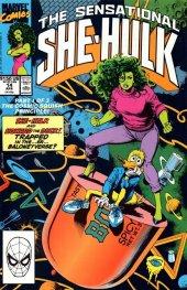 The Sensational She-Hulk #14 Bolland Variant Cover