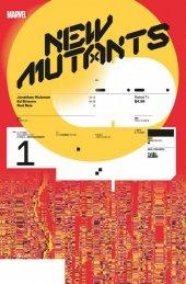 New Mutants #1 1:10 Muller Design Variant