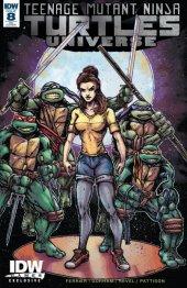 Teenage Mutant Ninja Turtles: Universe #8 April O