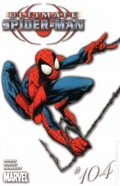 Ultimate Spider-Man #104 White Mark Bagley Variant