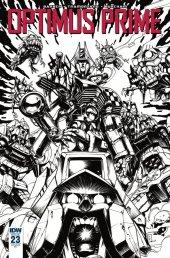 Optimus Prime #23 RI Cover Zama