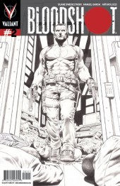 Bloodshot #2 2nd Printing Sketch Cover