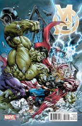 Young Avengers #11 Deodato Thor Variant