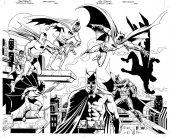 Detective Comics #1000 Dynamic Forces Exclusive Dan Jurgens & Kevin Nowlan Virgin B&W Pure Line Art Variant