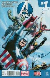 Avengers World #1 2nd Printing Cassaday Variant