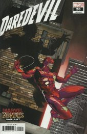 Daredevil #20 Sliney Marvel Zombies Variant