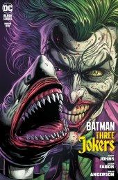Batman: Three Jokers #1 2nd Printing Joker Shark Variant