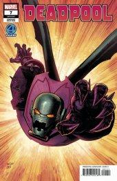 Deadpool #7 Marquez Fantastic Four Villains Variant