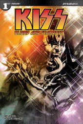 Kiss: Blood And Stardust #1 1:50 Sayger Demon Sgn Cover