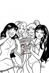 Red Sonja & Vampirella Meet Betty & Veronica #12 1:11 Incentive