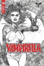Vampirella #8 1:20 Cowan B&w Cover