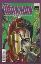 Iron Man 2020 #4 Superlog Heads Variant