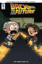 Back to the Future #14 Subscription Variant