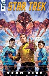 Star Trek: Year Five #2 Original Cover