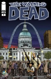 The Walking Dead #1 Wizard World St. Louis Comic Con 2015 Variant