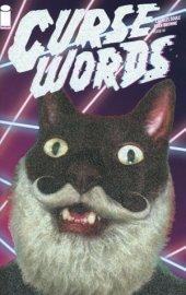 Curse Words #1 Glitter Wizard Cat Variant