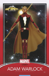 Infinity Countdown #1 Christopher Trading Card Variant