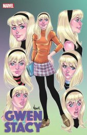 Gwen Stacy #1 Nauck Faces of Gwen Variant