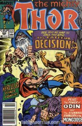 The Mighty Thor #408 Newsstand Edition