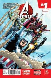 Avengers World #1 Deadpool Variant