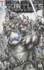 Teenage Mutant Ninja Turtles: Universe #1 2nd Printing