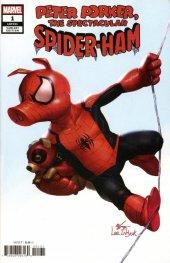 Spider-Ham #1 1:50 Incentive Inhyuk Lee Variant