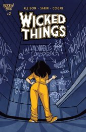 Wicked Things #2 Original Cover