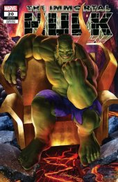 The Immortal Hulk #20 Greg Horn Variant A