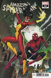 The Amazing Spider-Man #42 Spider-Woman Variant Cover
