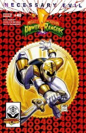 Mighty Morphin Power Rangers #40 Legends Comics & Games Fresno Exclusive ASM 300 Homage Variant