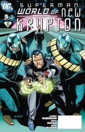 Superman: World of New Krypton #5 Variant Edition