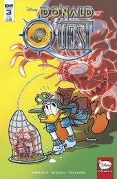 Donald Quest #3 Subscription Variant