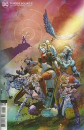 Suicide Squad #2 Card Stock Variant Edition
