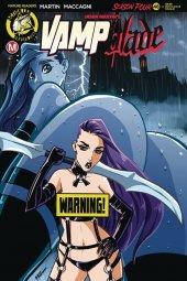 Vampblade: Season 4 #11 Cover D Rudetoons Reynolds Risque